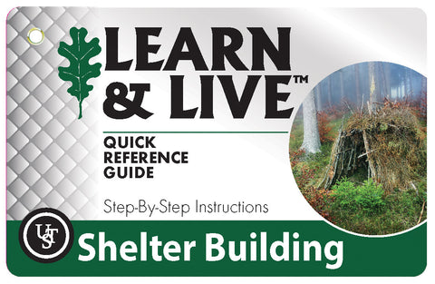 Ust Shelter Building Cards | Outdoor Adventurer