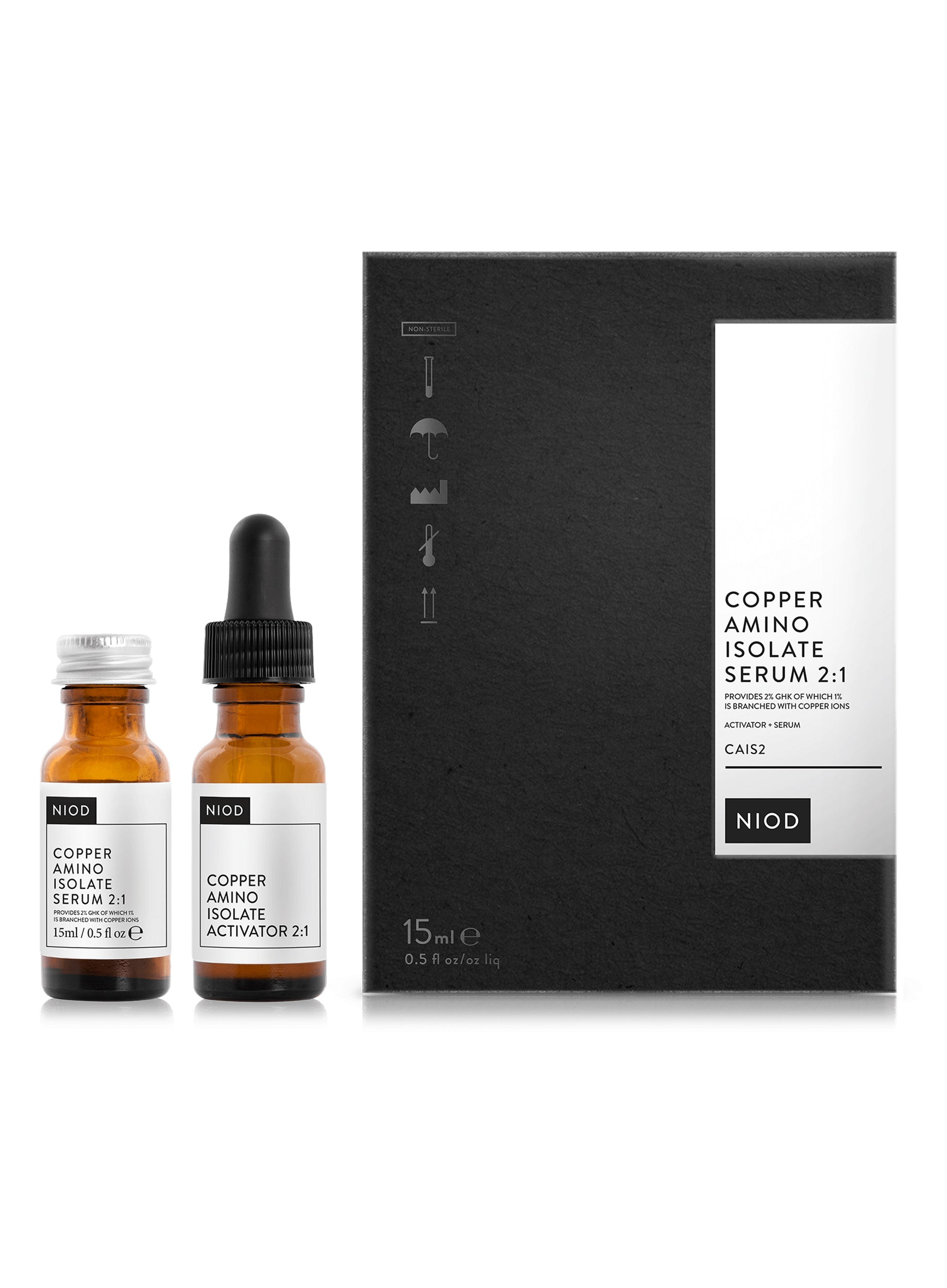 NIOD Copper Amino Isolate Serum 2:1 (CAIS2) 15ml