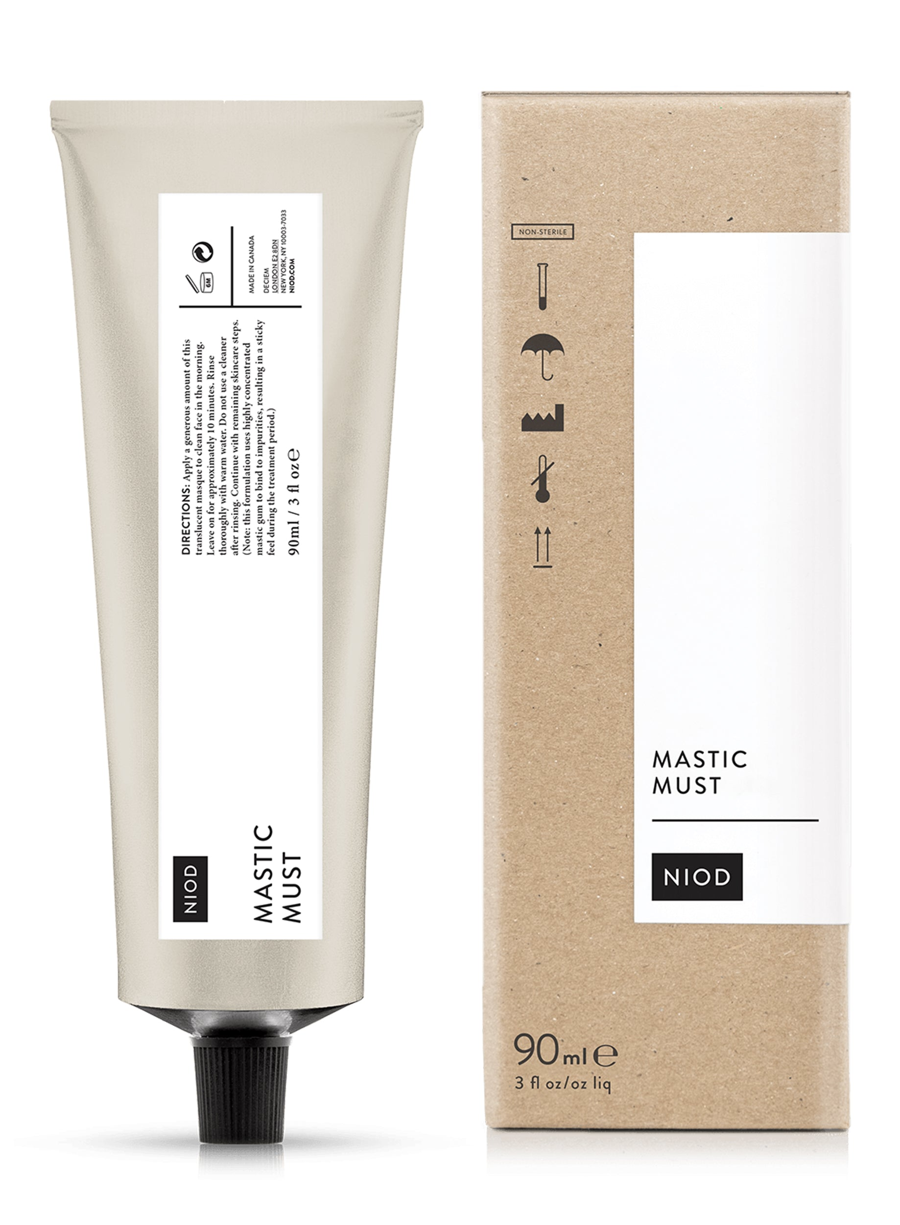 NIOD Mastic Must 90ml