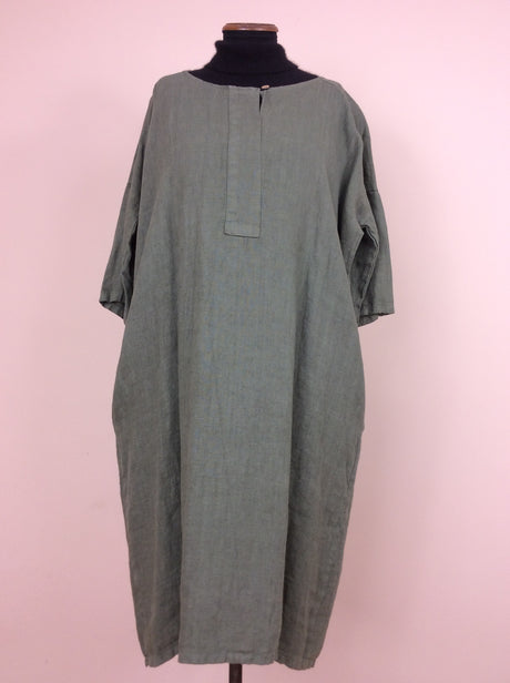 Made in Italy heavy linen dress