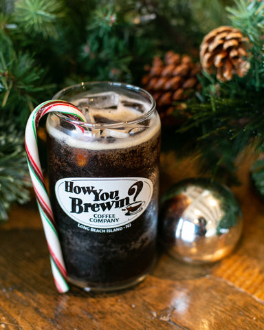 Peppermint Bark Cold Brew