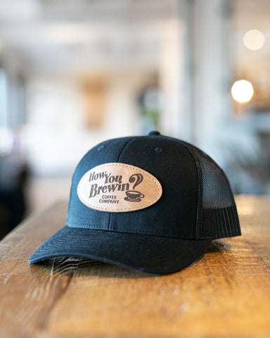 How You Brewin Logo Hat