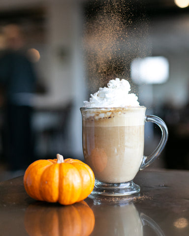 Frosted Pumpkin Latte