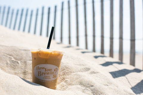 Cold Brew on the beach