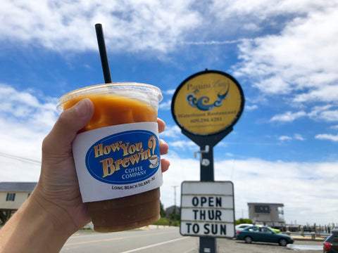 Cold brew at Panini Bay in Tuckerton New Jersey
