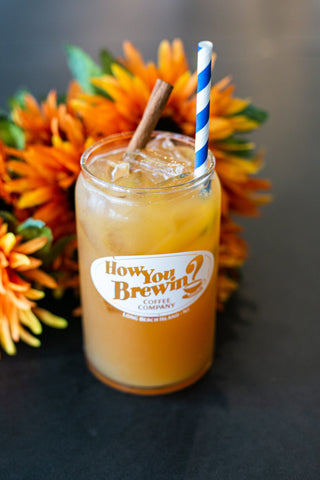 Local's Summer Spritzer mocktail at How You Brewin Coffee Company