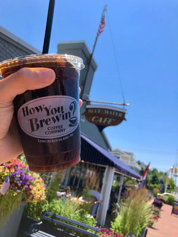 Nitro cold brew at Bluewater Cafe on Long Beach Island
