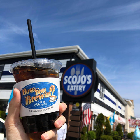 Cold brew at Scojo's in Surf City on Long Beach Island