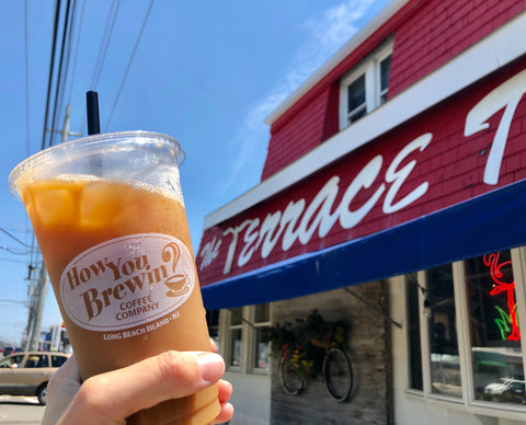 Cold Brew at Terrace Tavern on Long Beach Island