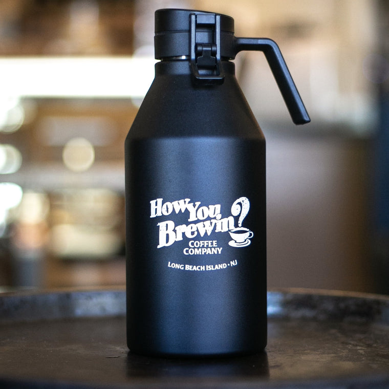 64oz Logo Growler