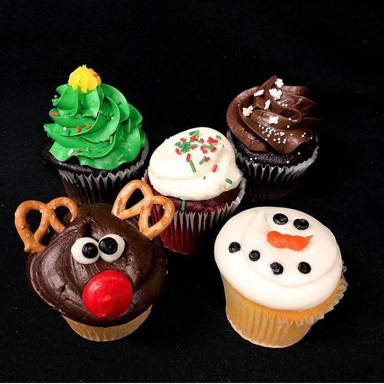 Holiday Cupcake Decorating Tutorial with Cake That! - December 8th