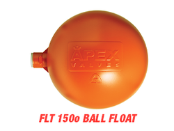 "APEX 6"" Orange Ball Float"