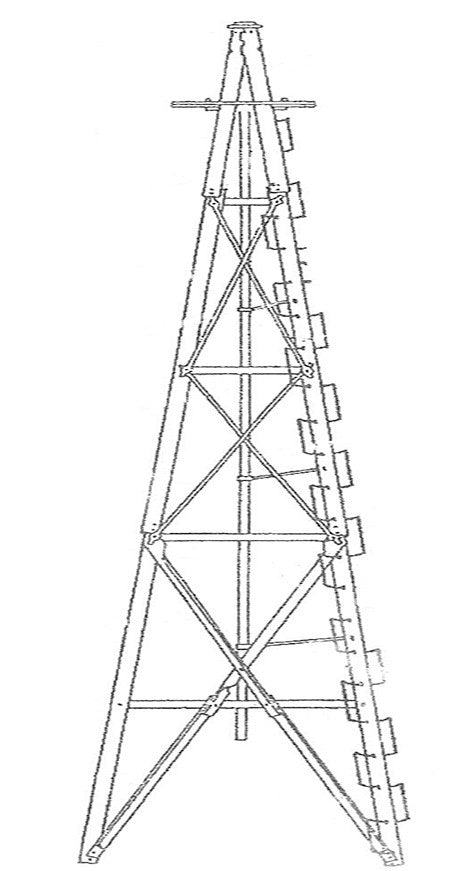 Aermotor Steel Tower for Water Pumping Windmill