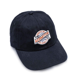 Aermotor Hat Stitch Patch (Black)