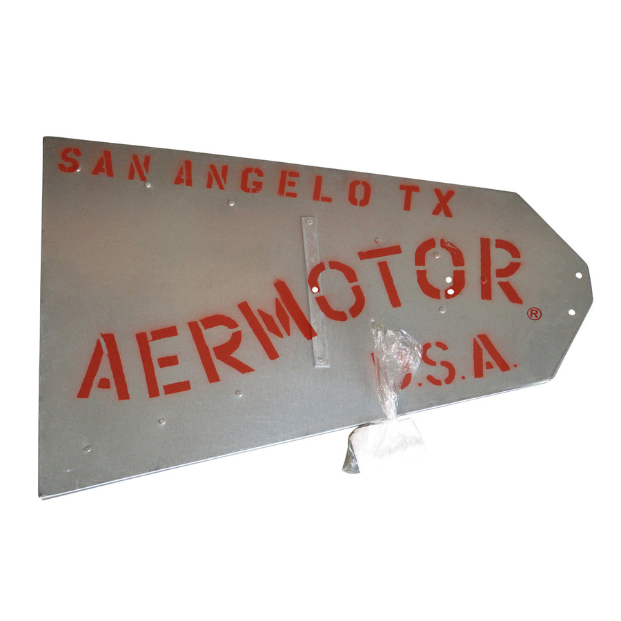 Aermotor Windmill Vane Assembly with Hardware