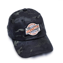 Aermotor Hat Stitch Patch (Multicam-Black)
