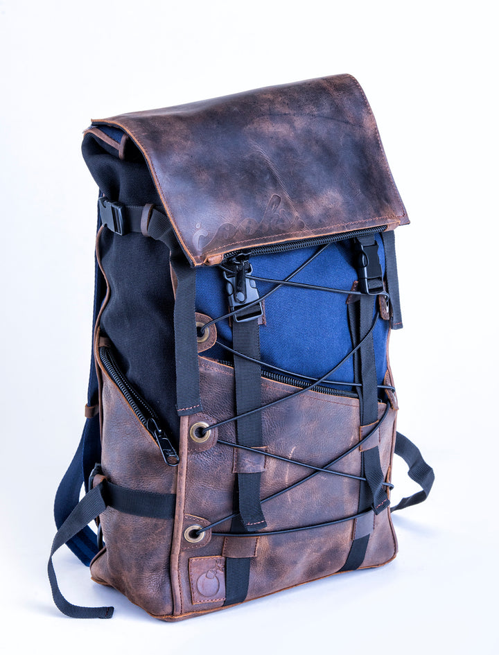 Bomber Bag - Black/Navy