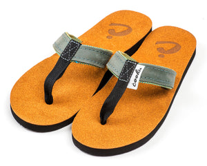 Roadie - Cool Breeze - Women's Leather Flip Flops