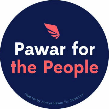 Pawar for the People Button - 1 1/4