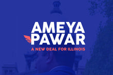 Ameya Pawar: A New Deal for Illinois Postcard - 5-pack