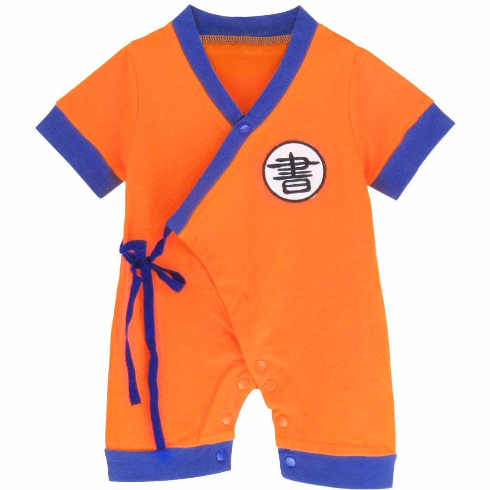 12d0f5640 Dragon Ball Baby Onesies and Rompers | Orange Bison Co.