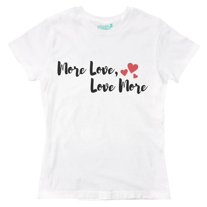 Playera para Dama More Love Playeras Dama
