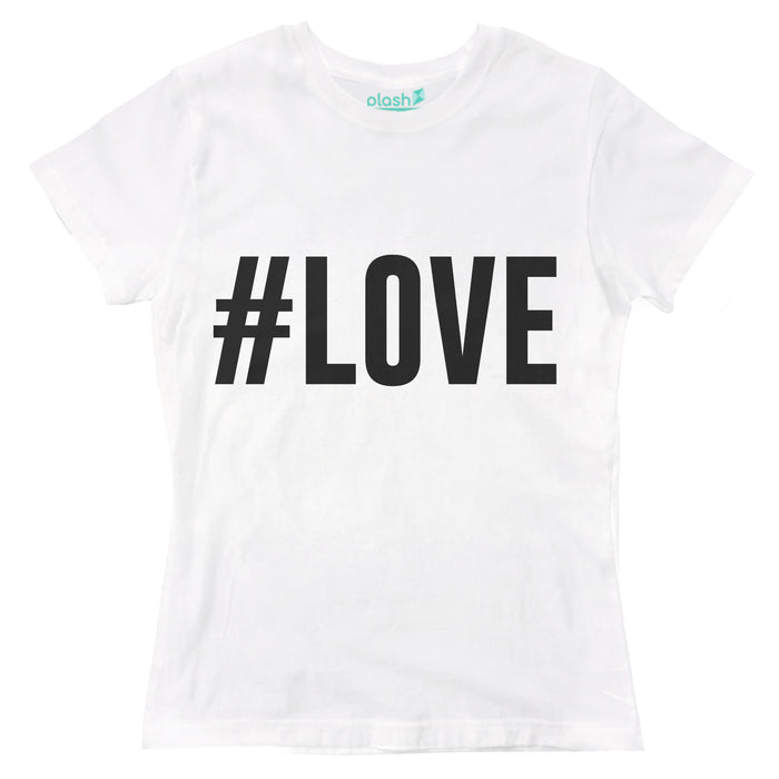 Playera para Dama #Love Playeras Dama