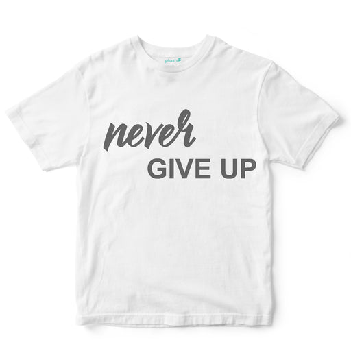 Playera para Caballero Never Give Up Playeras Caballero