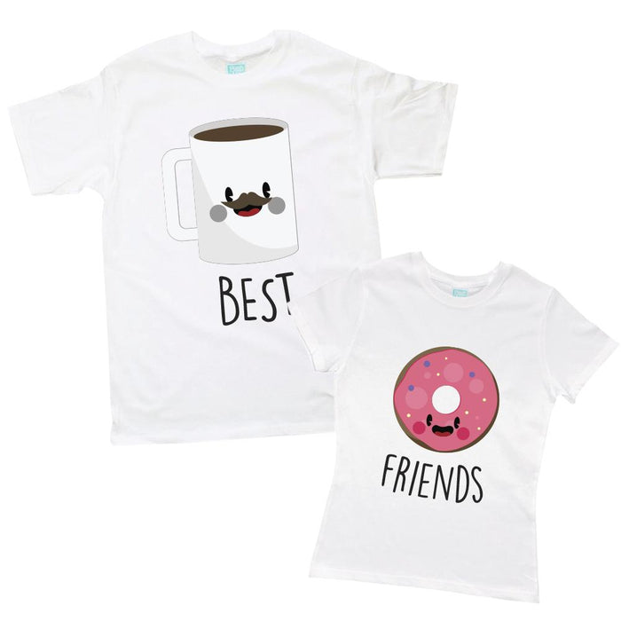 Kit de Pareja Best Friends Dona-Café Kit de Parejas Blanco / CH / CH