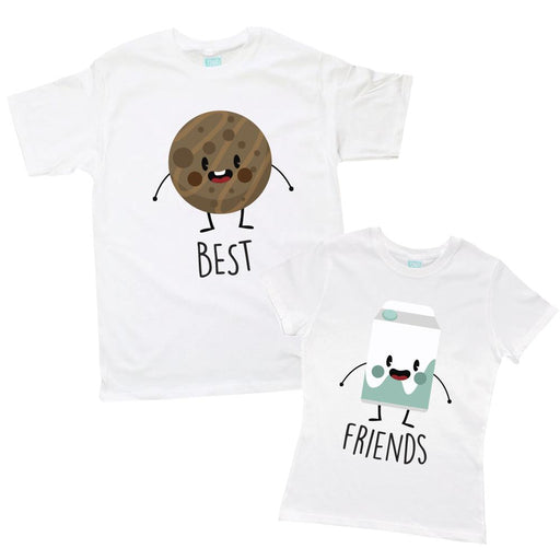 Kit de Pareja Best Friends Galleta-Leche Kits Plash Blanco CH CH