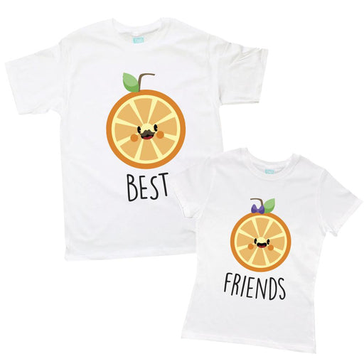 Kit de Pareja Best Friends Naranjas Kits Plash Blanco CH CH