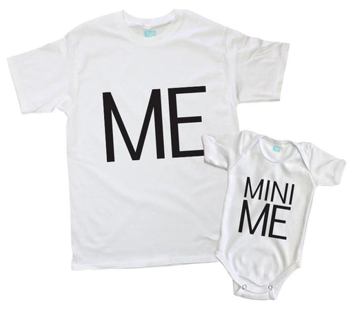 Kit Me - Mini Me (Blanco o negro) Kit Papás e Hijos Blanco / CH / 0