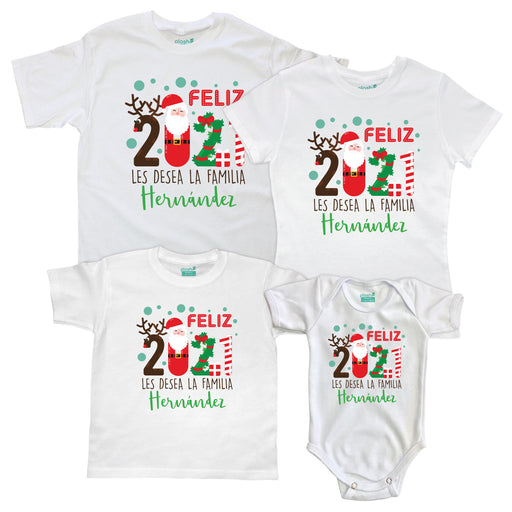 Kit Familiar Feliz Año Nuevo en Familia Kit Familiar