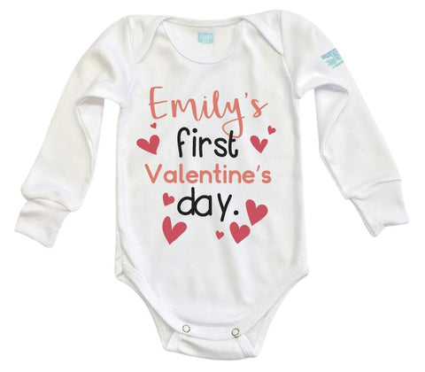 Body Bebe First Valentine Pañalero Plash Manga Larga Blanco 0m 42f41565b53