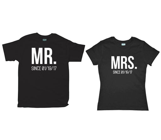 Kit de Pareja Mr-Mrs Kits Plash Negro CH CH