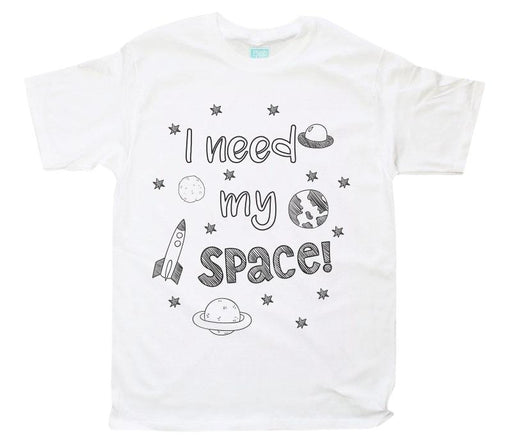Playera para Caballero Mi Space Playeras Plash Blanco CH