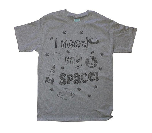 Playera para Caballero Mi Space Playeras Plash Gris CH