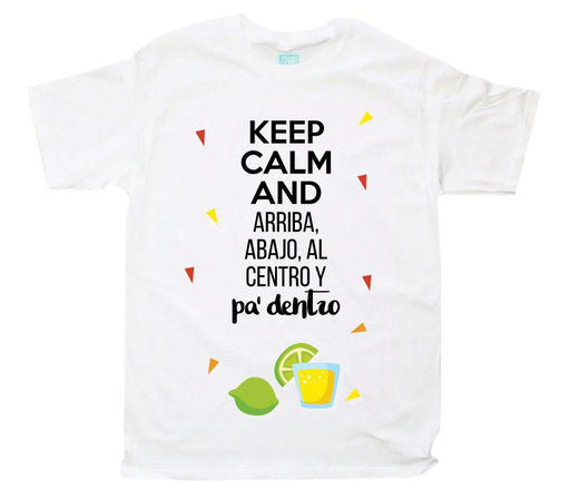 Playera Pa' Dentro Playeras Plash Blanco CH Caballero