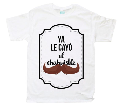 Playera Chahuistle Playeras Plash Blanco CH Caballero