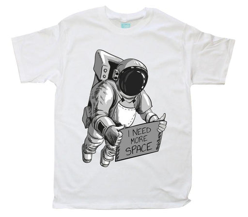 Playera Caballero Space Playeras Caballero Blanco / CH