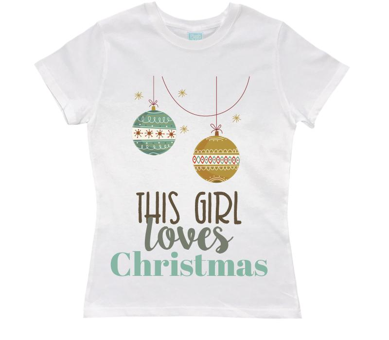 Playera This Girl... Playeras Dama Blanco / CH / Dama