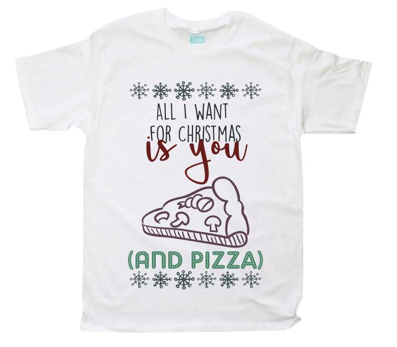 Playera Caballero You And Pizza Playeras Caballero Blanco / CH / Caballero