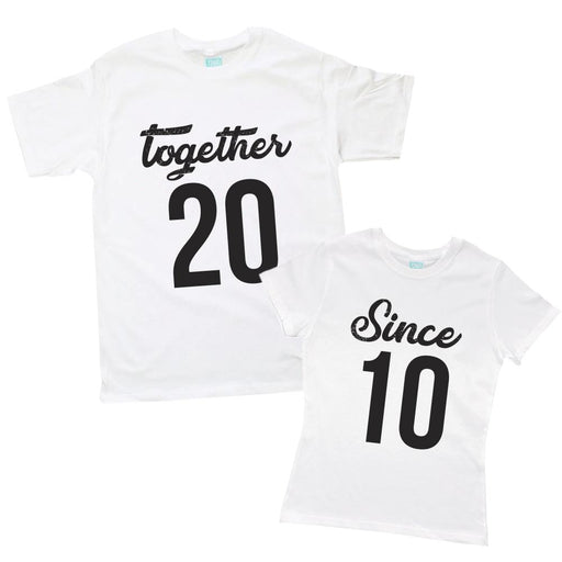 Kit de Pareja Together - Since Kit de Parejas Blanco / CH / CH