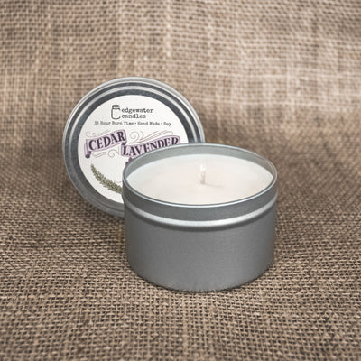 Travel Tin - Cedar Lavender