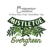 Travel Tin - Mistletoe Evergreen