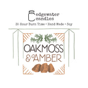 Travel Tin - Oakmoss & Amber