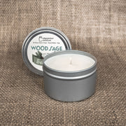 Travel Tin - Wood Sage Sea Salt