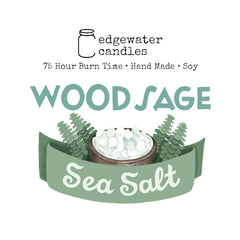 Wood Sage Sea Salt