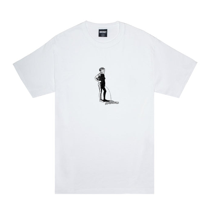 Hockey Piss T-Shirt White