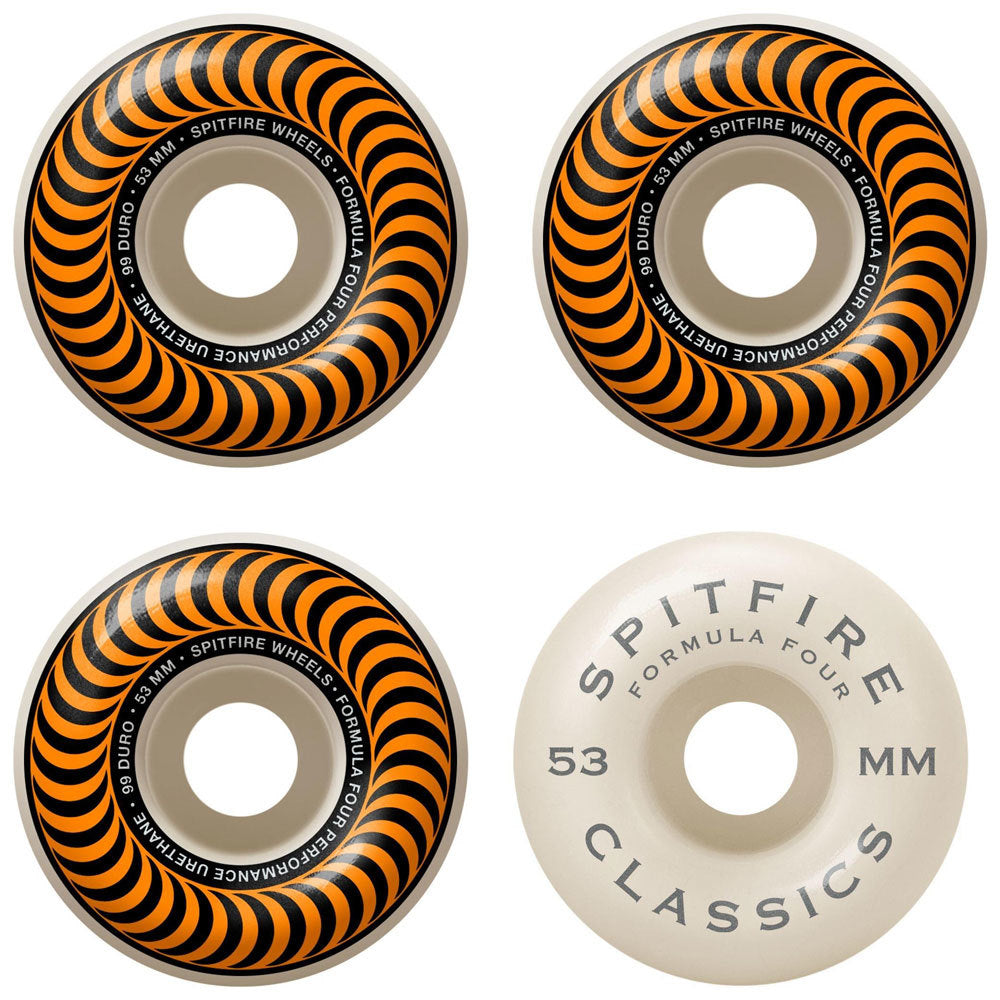 Spitfire Formula Four Classic 99 Wheels - 53mm